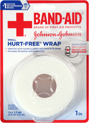 BAND-AID Hurt-Free Wrap Small 1 in - 1 EA