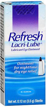 Refresh Lacri-Lube Lubricant Eye Ointment - 0.1225 OZ