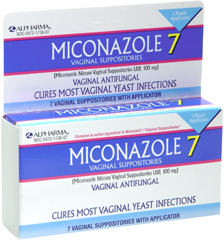 Miconazole 7 Vaginal Suppositories - 7 UNIT