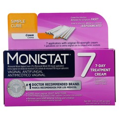 MONISTAT 7 Vaginal Antifungal Cream with Disposable Applicators - 7 EA