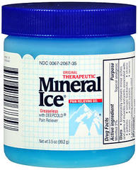 Mineral Ice Pain Relieving Gel - 3.5 OZ