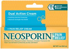 Neosporin + Pain Relief Cream Maximum Strength - 1 OZ
