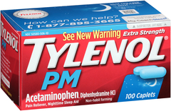 TYLENOL PM Extra Strength Caplets - 100 CAP