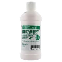 BETASEPT SURG SCRUB 4% 16OZ