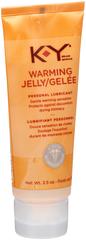 K-Y Warming Jelly Personal Lubricant - 2.5 OZ