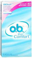 o.b. Pro Comfort Tampons Regular - 40 EA
