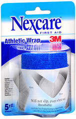 Nexcare Athletic Wrap 3 Inches X 2.2 Yards Blue - 1 EA