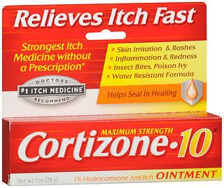 Cortizone-10 Anti-Itch Ointment - 1 OZ
