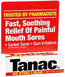 Tanac Oral Pain Reliever/Antiseptic, No Sting Liquid  - 0.45oz