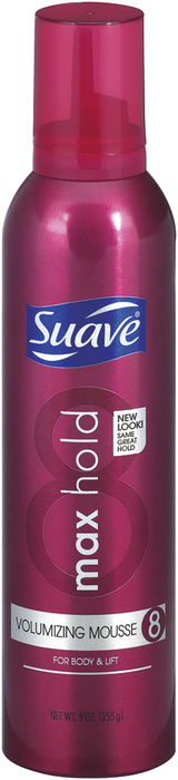 Suave Mousse Volume and Control Maximum Hold - 9 Ounces