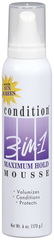 CONDITION 3-in-1 Maximum Hold Mousse - 6 OZ