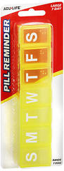 Acu-Life Pill Reminder Large 7 Day - 1 EA