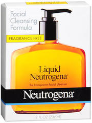 Neutrogena Liquid Facial Cleanser Unscented - 8 Ounces