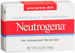 Neutrogena Facial Bar Acne Prone Skin - 3.5 Ounces