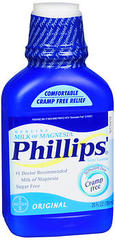 Phillips' Milk of Magnesia Laxative-Antacid, Liquid, Original  - 26oz