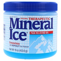 Mineral Ice Therapeutic Pain Relieving Gel, Original  - 16oz