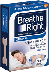 Breathe Right Nasal Strips, Tan, Small/Medium  - 30ea