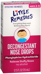 Little Noses Decongestant Nose Drops, Pediatric Formula  - 0.5oz
