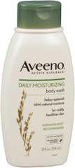 AVEENO Active Naturals Daily Moisturizing Body Wash - 12 OZ