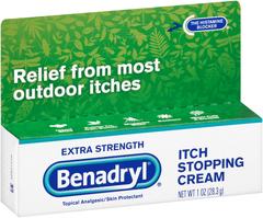 Benadryl Cream Extra Strength - 1 Ounces