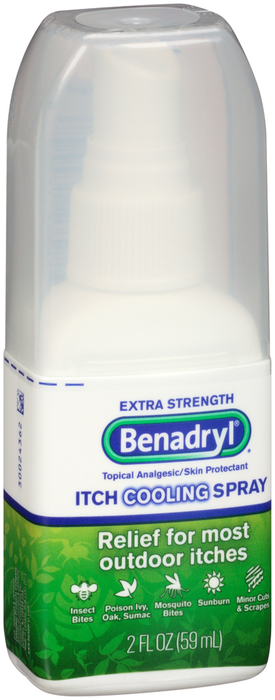 Benadryl Spray Extra Strength - 2 Ounces