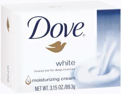 Dove Beauty Bar White - 3.15 Ounces
