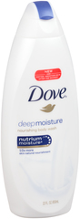 Dove Deep Moisture Body Wash  -  24 OZ