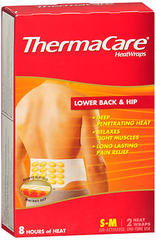 ThermaCare Lower Back & Hip - 2 HeatWraps S-M