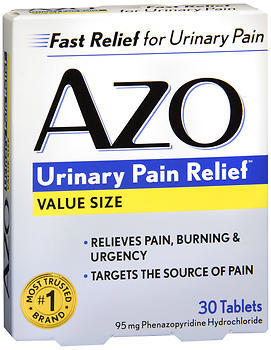 AZO Urinary Pain Relief, 95 mg, Tablets, Value Package  - 30ea
