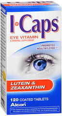 ICaps Lutein & Zeaxanthin Formula, Coated Tablets  - 120ea