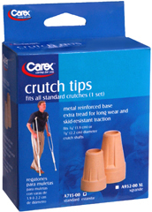 Carex Crutch Tips Standard A715-00