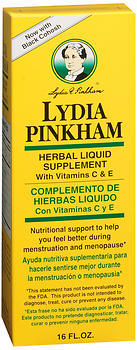 Lydia Pinkham Herbal Liquid - 16 Ounces