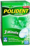 Polident Denture Cleanser, Tablets  - 108ea