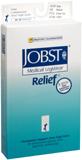JOBST Medical LegWear Relief Knee High Socks 20-30 mmHg Medium Beige Close-Toe  -  1 PR