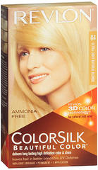 Revlon Ammonia-Free Haircolor, Ultra Blondes, Level 3 Permanent, Ultra Light Natural Blonde 04/11N  - 1ea