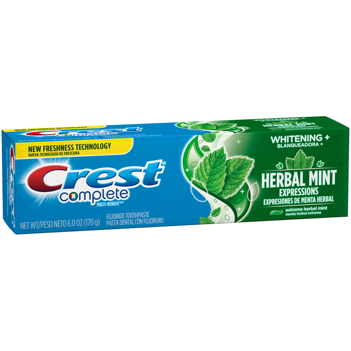 Crest Whitening Expressions Toothpaste Extreme Herbal Mint - 6 OZ