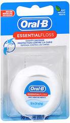 Oral-B Waxed Dental Floss, Mint  - 55yd