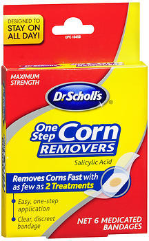 Dr. Scholl's OneStep Corn Removers, Medicated  - 6ea