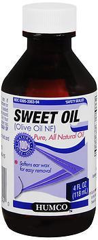 Humco Sweet Oil - 4 OZ
