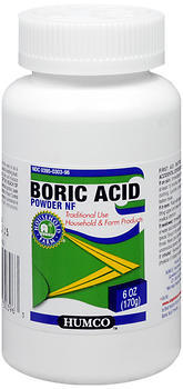 Humco Boric Acid Powder NF - 6 Ounces