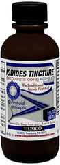 Humco Iodides Tincture (Decolorized Iodine) - 2 OZ
