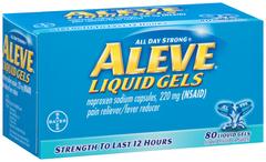 Aleve Liquid Gels  -  80 Caplets