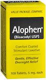 Alophen Tablets - 100 TB