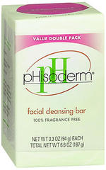 pHisoderm Facial Cleansing Bar Value Double Pack - 2 EA