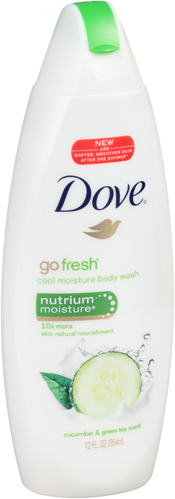 Dove Body Wash Fresh Moisture - 12 OZ