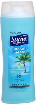 Suave Naturals Body Wash Ocean Breeze - 12 Ounces