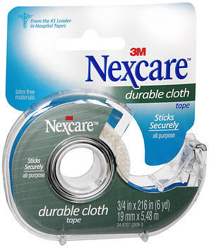 """3M Nexcare First Aid Tape Durable Cloth 3/4"""""""" X 6 Yards - 6 YD"""