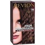 Revlon 10 Minute Haircolor Creme-Gel, Level 3 Permanent, Medium Golden Brown 58  - 1ea
