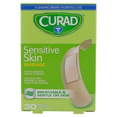 Curad Sensitive Skin Bandages  - 30ea