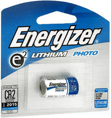 Energizer Lithium Battery 6.0 Volts CR2 1-Pack - 1 EA